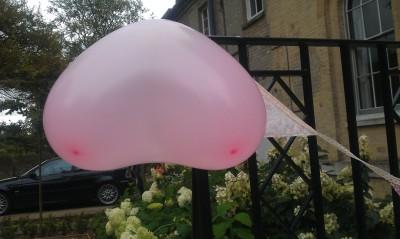 Bulgarian airbag balloons