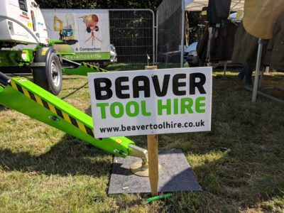Advert for Beaver Tool Hire