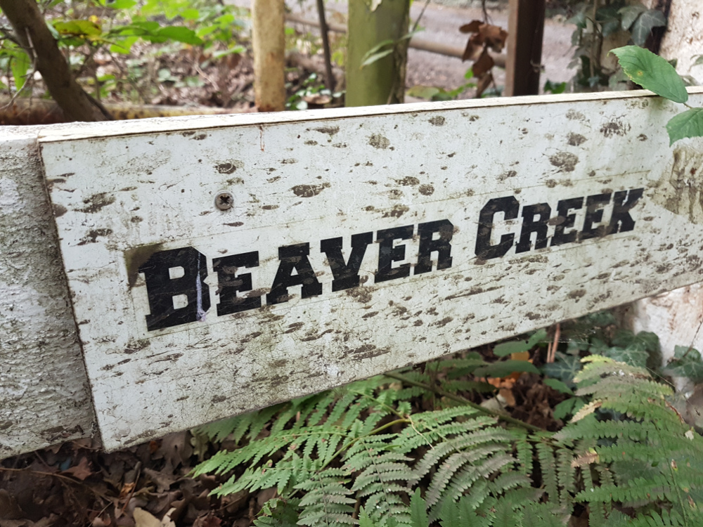 Beaver Creek sign