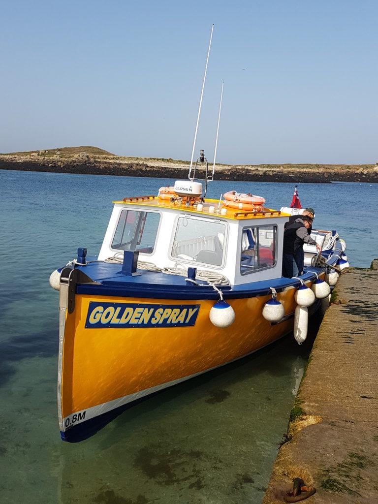 Golden Spray boat